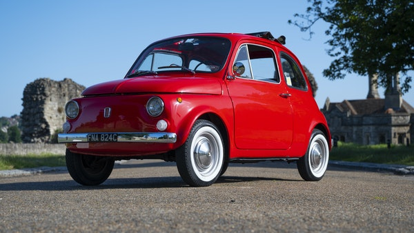 1965 Fiat 500 For Sale (picture 7 of 156)