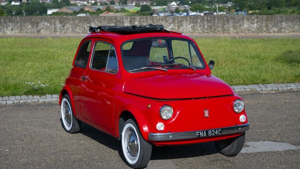 1965 Fiat 500 For Sale (picture 1 of 156)