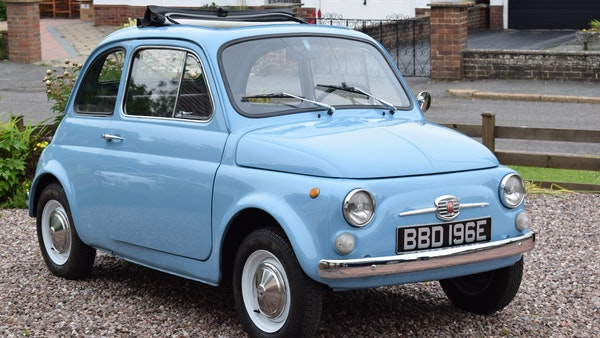 1967 Fiat 500F Berlina For Sale (picture 3 of 70)