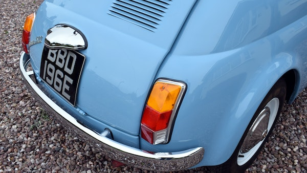 1967 Fiat 500F Berlina For Sale (picture 48 of 70)