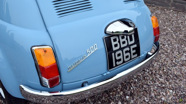 1967 Fiat 500F Berlina For Sale (picture 47 of 70)