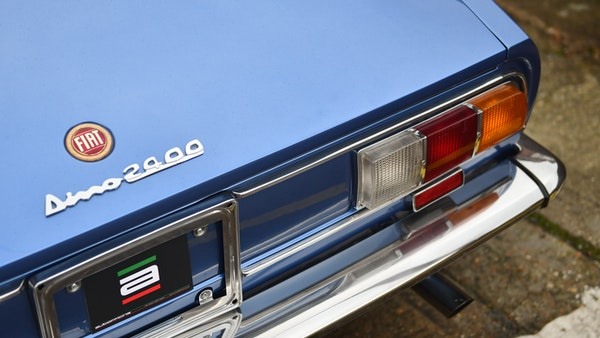 RESERVE LOWERED - 1971 Fiat Dino 2400 Coupe For Sale (picture 42 of 108)