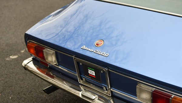 RESERVE LOWERED - 1971 Fiat Dino 2400 Coupe For Sale (picture 43 of 108)