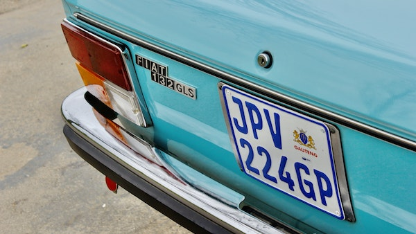 1975 Fiat 132 1800 GLS For Sale (picture 83 of 95)