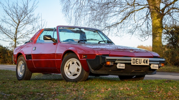 1980 Fiat X1/9 1.5 Five Speed For Sale (picture 4 of 92)