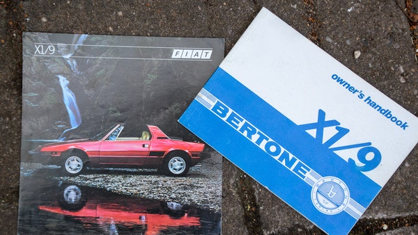 1980 Fiat X1/9 1.5 Five Speed For Sale (picture 90 of 92)