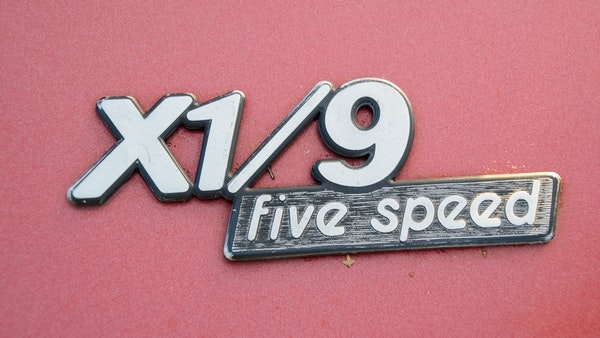 1980 Fiat X1/9 1.5 Five Speed For Sale (picture 66 of 92)