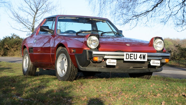 1980 Fiat X1/9 1.5 Five Speed For Sale (picture 16 of 92)