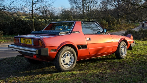 1980 Fiat X1/9 1.5 Five Speed For Sale (picture 12 of 92)