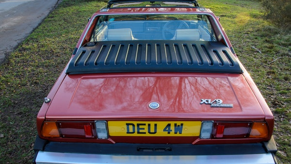 1980 Fiat X1/9 1.5 Five Speed For Sale (picture 9 of 92)