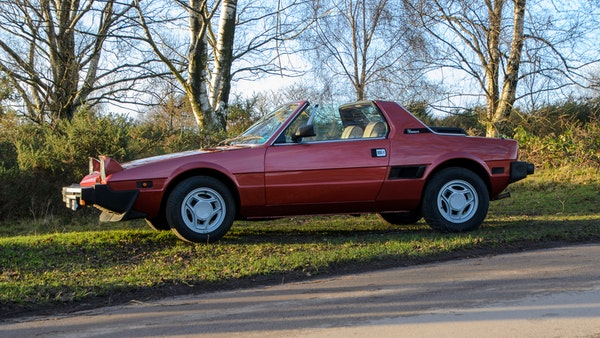 1980 Fiat X1/9 1.5 Five Speed For Sale (picture 20 of 92)