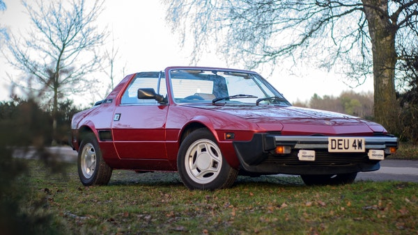 1980 Fiat X1/9 1.5 Five Speed For Sale (picture 1 of 92)