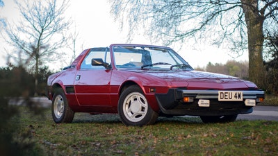 1980 Fiat X1/9 1.5 Five Speed