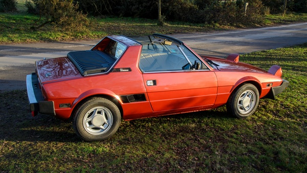 1980 Fiat X1/9 1.5 Five Speed For Sale (picture 13 of 92)