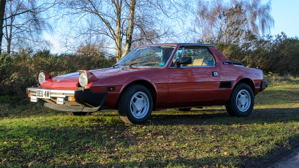 1980 Fiat X1/9 1.5 Five Speed For Sale (picture 3 of 92)
