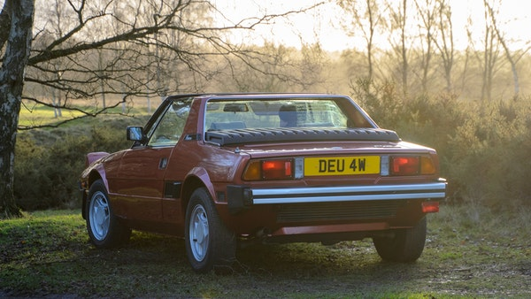1980 Fiat X1/9 1.5 Five Speed For Sale (picture 6 of 92)