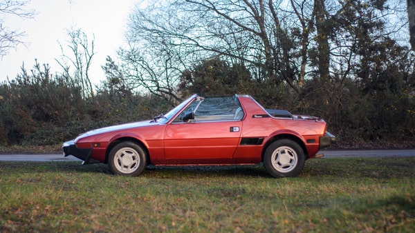1980 Fiat X1/9 1.5 Five Speed For Sale (picture 24 of 92)