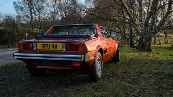 1980 Fiat X1/9 1.5 Five Speed For Sale (picture 8 of 92)