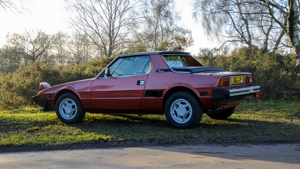 1980 Fiat X1/9 1.5 Five Speed For Sale (picture 19 of 92)