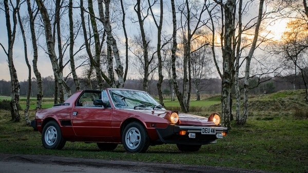 1980 Fiat X1/9 1.5 Five Speed For Sale (picture 11 of 92)