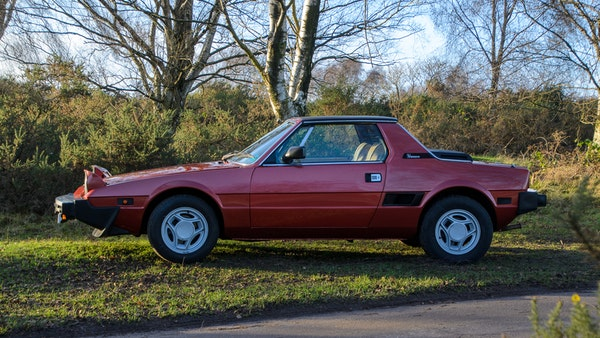 1980 Fiat X1/9 1.5 Five Speed For Sale (picture 18 of 92)