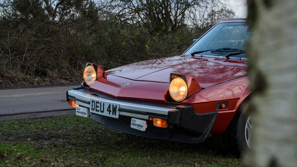1980 Fiat X1/9 1.5 Five Speed For Sale (picture 22 of 92)