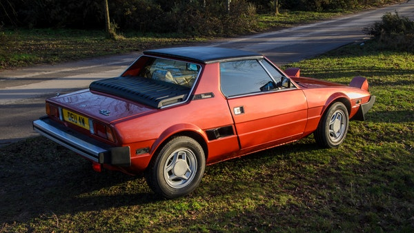 1980 Fiat X1/9 1.5 Five Speed For Sale (picture 17 of 92)