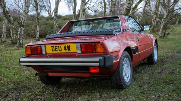 1980 Fiat X1/9 1.5 Five Speed For Sale (picture 23 of 92)