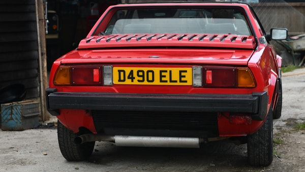 1987 Fiat X1/9 For Sale (picture 25 of 170)