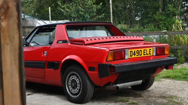 1987 Fiat X1/9 For Sale (picture 23 of 170)