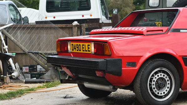 1987 Fiat X1/9 For Sale (picture 88 of 170)
