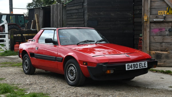 1987 Fiat X1/9 For Sale (picture 4 of 170)