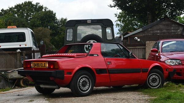 1987 Fiat X1/9 For Sale (picture 16 of 170)