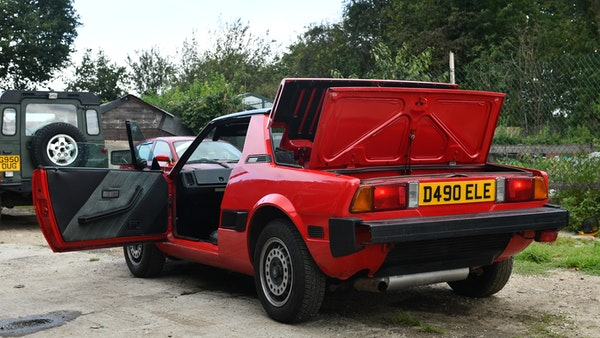 1987 Fiat X1/9 For Sale (picture 17 of 170)