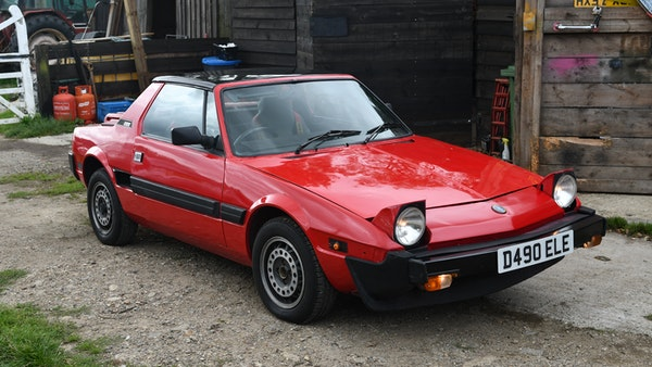 1987 Fiat X1/9 For Sale (picture 3 of 170)