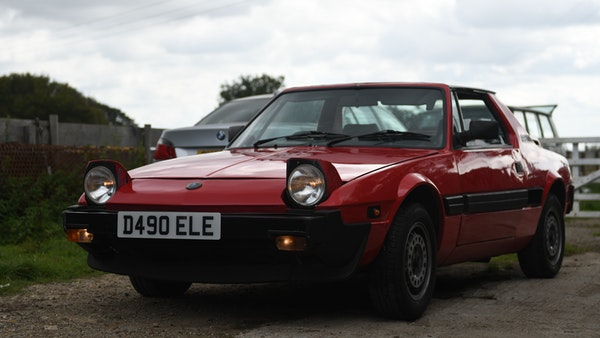 1987 Fiat X1/9 For Sale (picture 11 of 170)