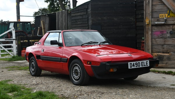 1987 Fiat X1/9 For Sale (picture 5 of 170)