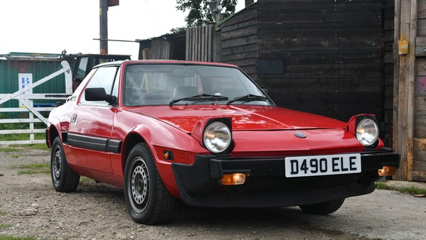 1987 Fiat X1/9 For Sale (picture 1 of 170)
