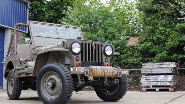 1945 Willys Jeep For Sale (picture 19 of 124)