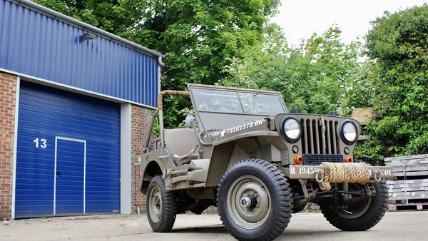 1945 Willys Jeep For Sale (picture 31 of 124)