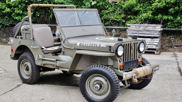1945 Willys Jeep For Sale (picture 35 of 124)