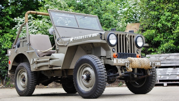 1945 Willys Jeep For Sale (picture 7 of 124)