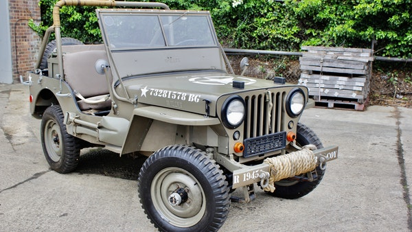 1945 Willys Jeep For Sale (picture 17 of 124)