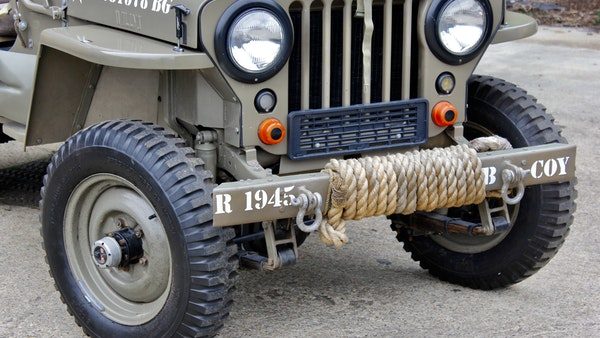 1945 Willys Jeep For Sale (picture 18 of 124)