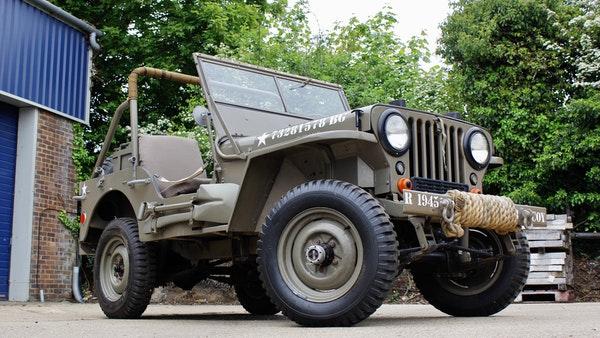 1945 Willys Jeep For Sale (picture 32 of 124)
