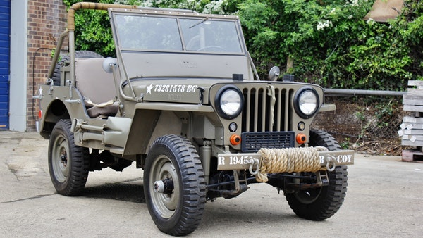 1945 Willys Jeep For Sale (picture 1 of 124)
