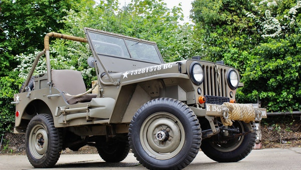 1945 Willys Jeep For Sale (picture 34 of 124)