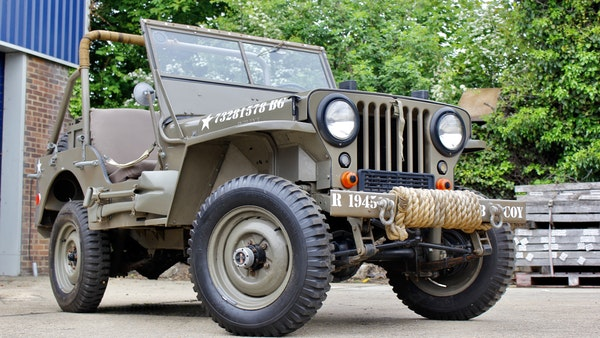 1945 Willys Jeep For Sale (picture 20 of 124)