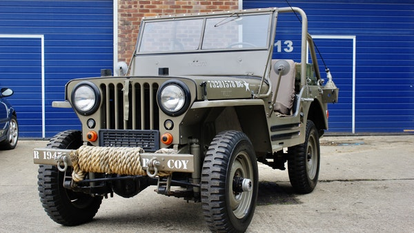 1945 Willys Jeep For Sale (picture 14 of 124)