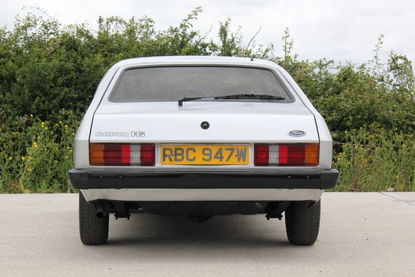1981 Ford Capri 1.6 GL For Sale (picture 9 of 121)